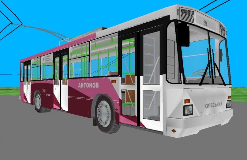 Рабочий стол разрисованные автобусы
